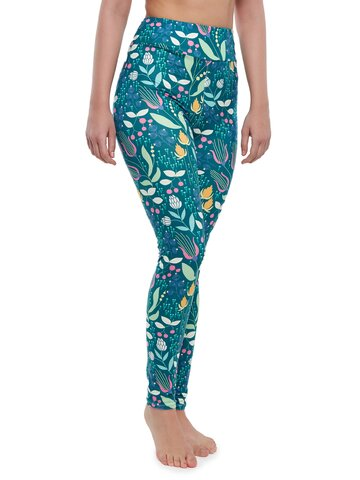 Lifestyle photo High Waisted Leggings Dreamy Meadow
