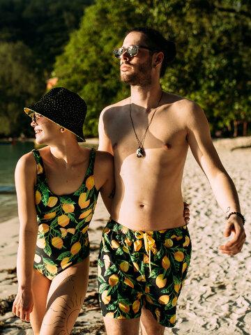 Lifestyle photo Men's Swim Shorts Lemons