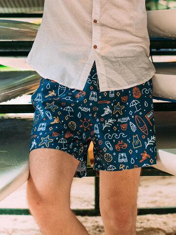 pentru outfit-ul perfect Șort Vesel de Baie Bărbați Surfing