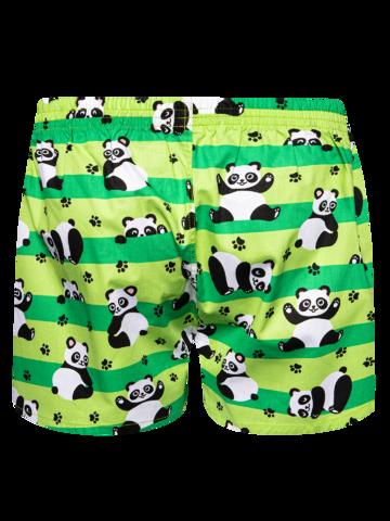 Výnimočný darček od Dedoles Vrolijke heren boxershorts Panda & strepen
