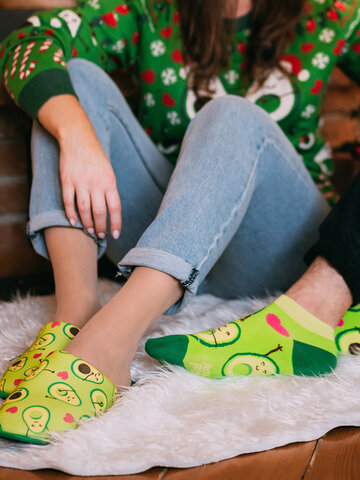 Hledáte originální a neobvyklý dárek? Obdarovaného zaručeně překvapí Veselé papuče Avokádová láska