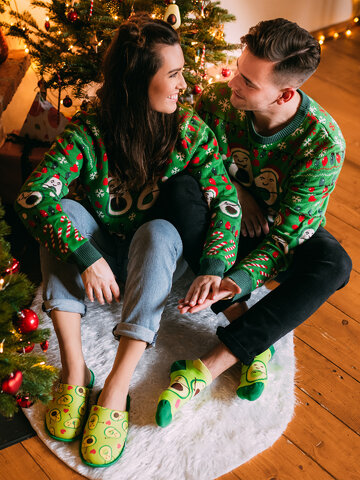 Výprodej Veselé papuče Avokádová láska
