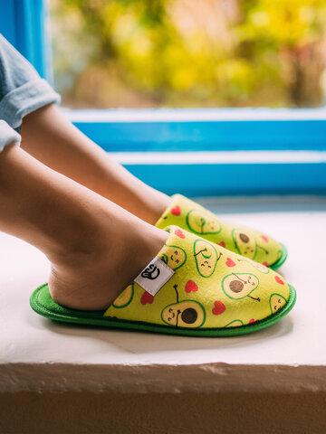 Sleva Veselé papuče Avokádová láska