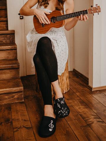 Indicație pentru cadou Papuci de Casă Veseli Muzică