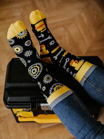 Obrázok produktu Vesele čarape Mehaničar