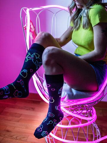 Sale Regular Socks Neon Love