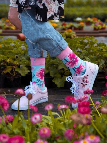 Potešte sa týmto kúskom Dedoles Весели чорапи Орхидея