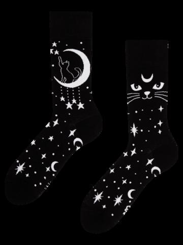 Pre dokonalý a originálny outfit Vesele čarape Mistična mačka