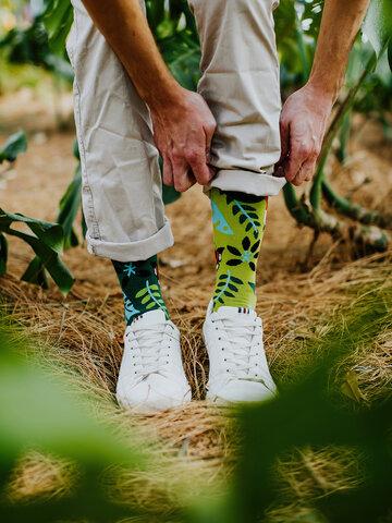Výpredaj Veselé ponožky Vtáčiky z džungle