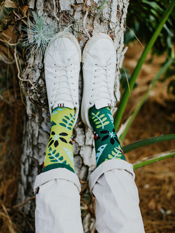 Zľava Veselé ponožky Vtáčiky z džungle