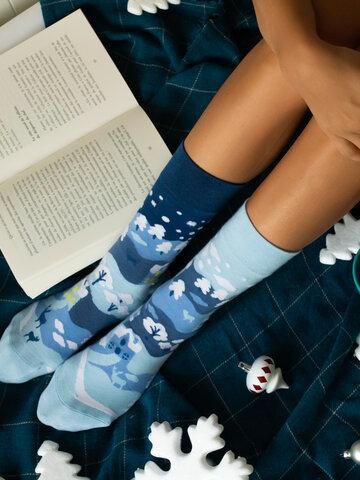 Potešte sa týmto kúskom Dedoles Regular Socks Winter Country