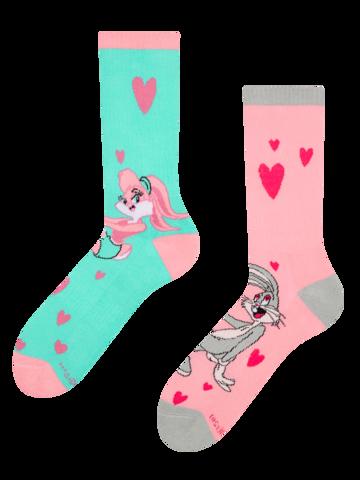 Lifestyle photo Sport Socks Looney Tunes™ Lola & Bugs Bunny Love