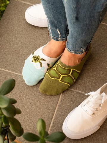 Geschenktipp Lustige No-Show-Socken Meeresschildkröten