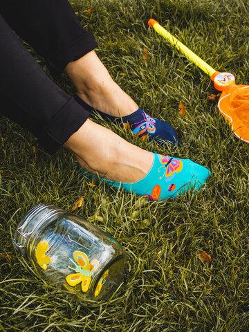 Tip na darček Весели невидими чорапи Пеперуди
