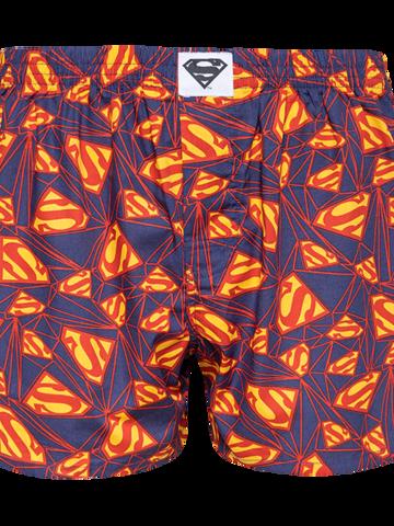 Hľadáte originálny a nezvyčajný darček? Obdarovaného zaručene prekvapí Caleçon rigolo pour hommes DC Comics ™ Superman Logo