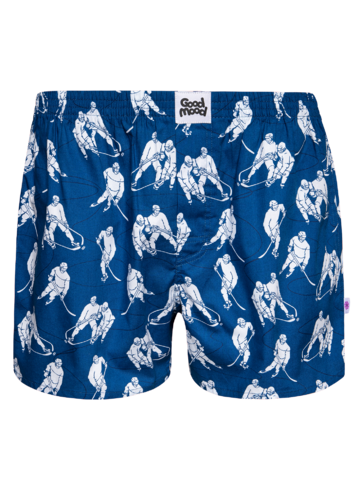 Geschenktipp Lustige Shorts für Männer Eishockey