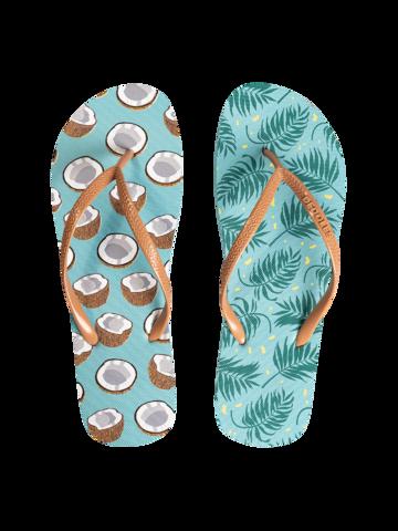 Ausverkauf Lustige Flip-Flops Kokosnuss