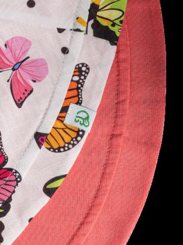 Obrázok produktu Sombrero alegre de pescador para mujer Mariposas de colores
