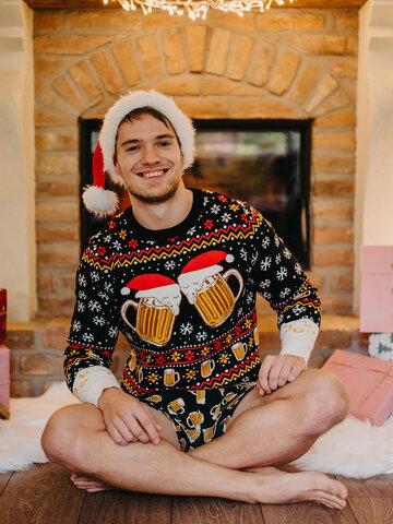Tip na dárek Veselý vánoční svetr Točené pivo