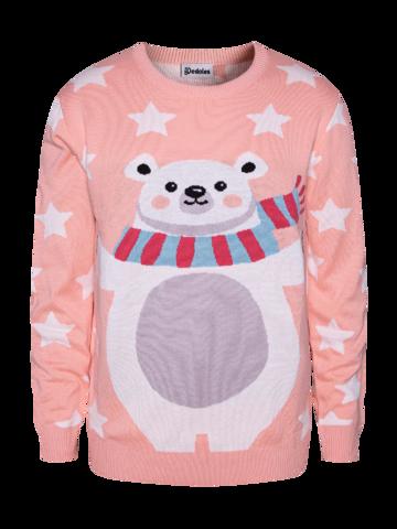 Výprodej Veselý vánoční svetr Medvěd a hvězdy