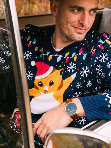Výnimočný darček od Dedoles Sudadera alegre de Navidad Hámster