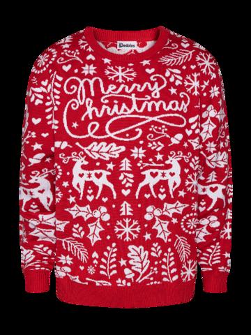 Geschenktipp Lustiger Weihnachtspullover Frohe Weihnachten