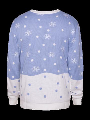Eredeti és szokatlan ajándékot keres? a megajándékozottat garantáltan meglepi Vidám karácsonyi pulcsi Téli róka