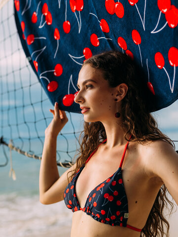 Tip na darček Veseli gornji dio bikinija Trešnje