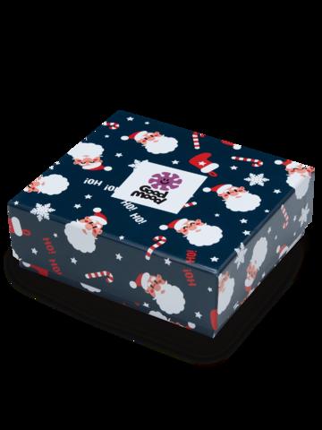Potešte sa týmto kúskom Dedoles Božična darilna škatla moške široke boksarice