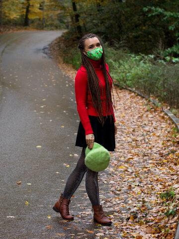 Foto Mască Facială Veselă Dragoste pentru Avocado