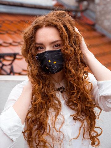 Lichidare de stoc Mască Facială Veselă Ochi de Pisică