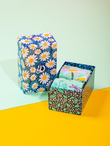 Pre dokonalý a originálny outfit Klasická darčeková krabička Kvet sedmokrásky