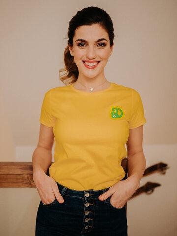 Pre dokonalý a originálny outfit Živahna ženska majica Dedolesovi hrčki
