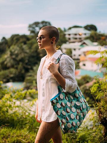 Original gift Beach Bag Coconut