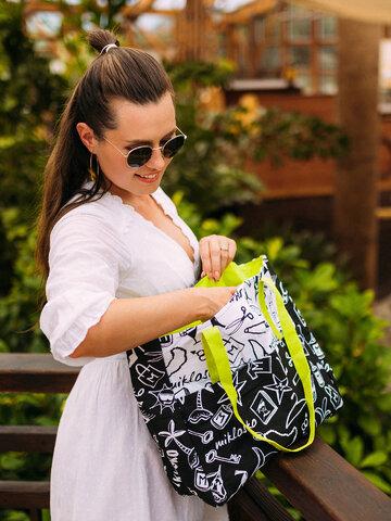 Foto Veselá plážová taška Miklosko pro Dedoles
