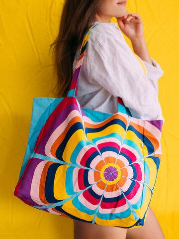 Original gift Beach Bag Splashing Circles