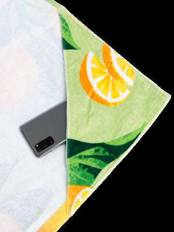 Original gift Beach Towel Lemons