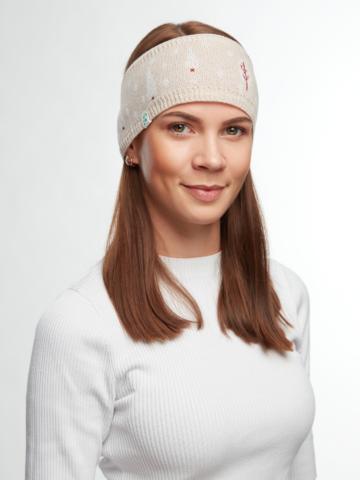 Ausverkauf Lustiges gestricktes Stirnband für Frauen Schneeland