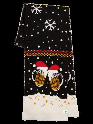 Bereiten Sie sich Freude mit diesem Dedoles-Stück Lustiger gestrickter Schal für Männer Bier vom Fass