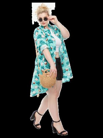 Pre dokonalý a originálny outfit Shirt Dress Coconut