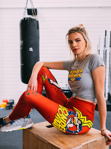 Original gift Wonder Woman ™ High Waisted Leggings Power