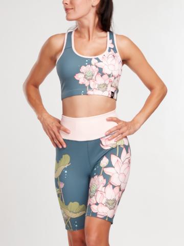Výpredaj Vesele kratke sportske tajice  Ružičasti lotus
