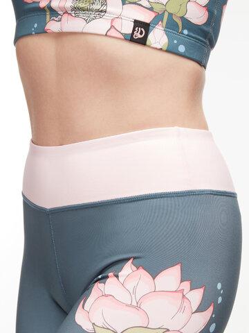 Potešte sa týmto kúskom Dedoles Wesołe legginsy sportowe Różowy lotos