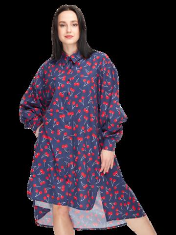 Lifestyle photo Shirt Dress Cherries