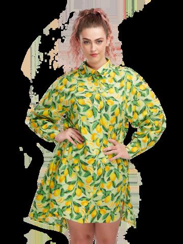 Foto Lustiges Hemdkleid Zitronen