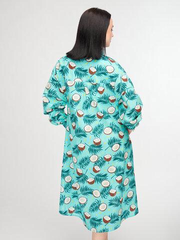 Obrázok produktu Veselé košeľové šaty Kokosový orech
