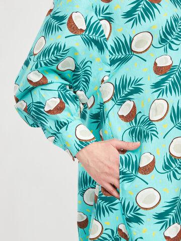 Hľadáte originálny a nezvyčajný darček? Obdarovaného zaručene prekvapí Veselé košeľové šaty Kokosový orech