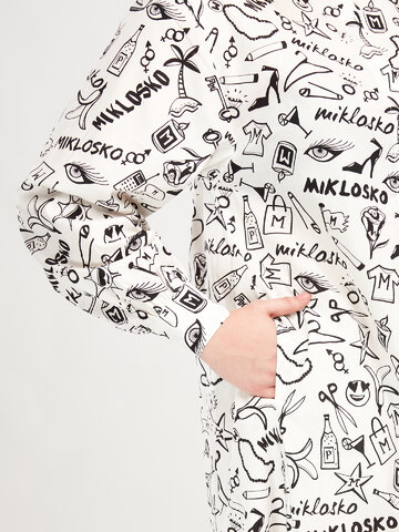 Sale Shirt Dress Miklosko & Dedoles