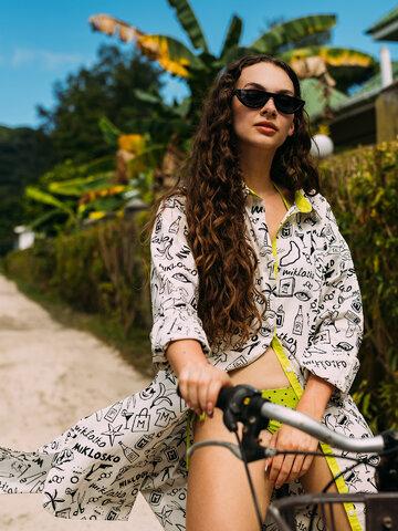 Pre dokonalý a originálny outfit Shirt Dress Miklosko & Dedoles