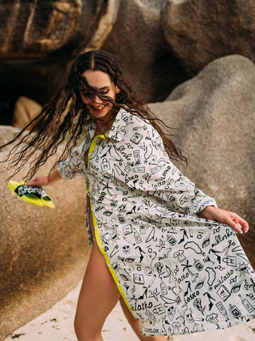 Lifestyle photo Shirt Dress Miklosko & Dedoles